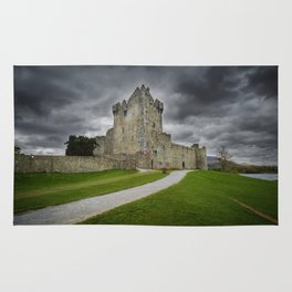 Ross Castle,Killarney,Ireland Rug