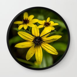 Black-eyed Susans Wall Clock