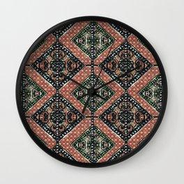 Geometric Decorative Motif Wall Clock