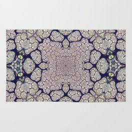 Duckweed Kaleidoscope   Micro Series 01 Rug
