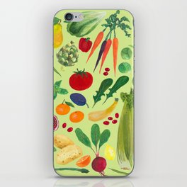 Fruits and Veggies iPhone Skin