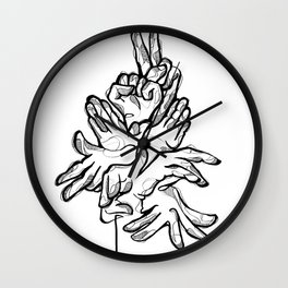 HandsTalk Wall Clock