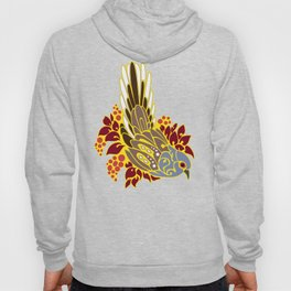 Diamond dove bird tribal tattoo Hoody