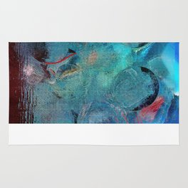 Dinnerparty abstract Rug