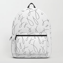 Fishes pattern Backpack