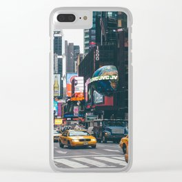 NYC Times Square Clear iPhone Case