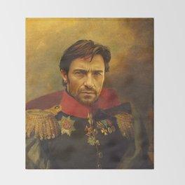 Hugh Jackman - replaceface Throw Blanket