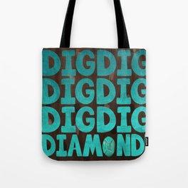 Diamond Craft Tote Bag
