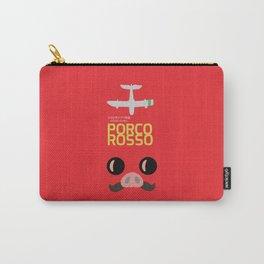 Porco Rosso - Hayao Miyazaki minimalist movie poster - Studio Ghibli, japanese animated film Carry-All Pouch