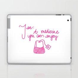 Tea: A medicine you can enjoy. Laptop & iPad Skin