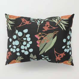 Australian Botanicals - Black Pillow Sham