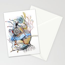 Mermaid Mantra Stationery Cards