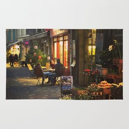 Evening in Provence Village Rug
