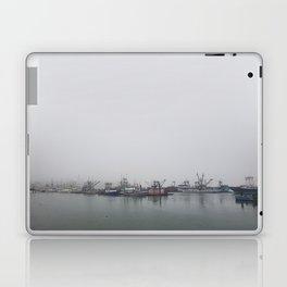 Moored in the Mist Laptop & iPad Skin