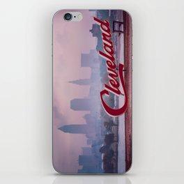 Homesick - Cleveland Skyline iPhone Skin