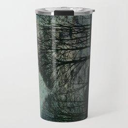 Textured Trees Travel Mug