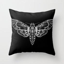 The Moth Throw Pillow