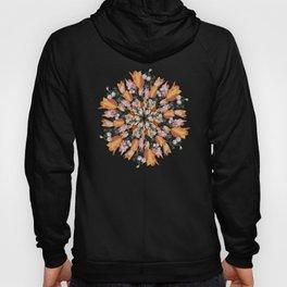 Flemish Floral Mandala 2 Hoody