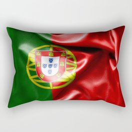 Portugal Flag Rectangular Pillow