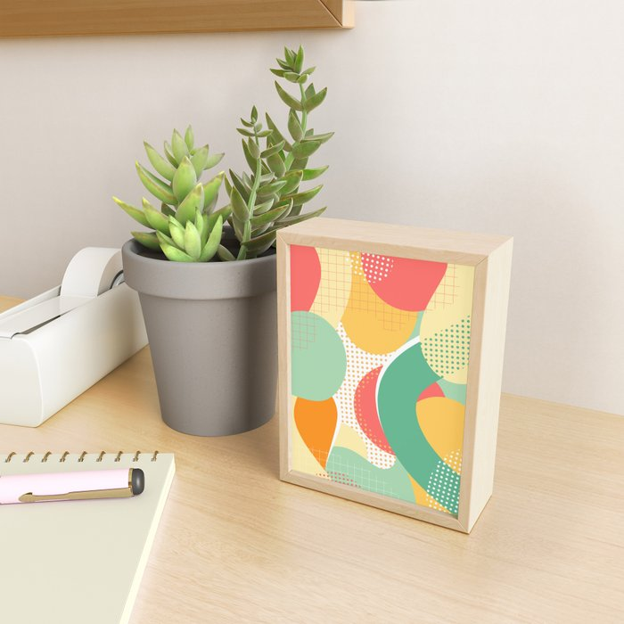 Abstraction II Framed Mini Art Print