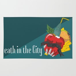 Death in the city Rug