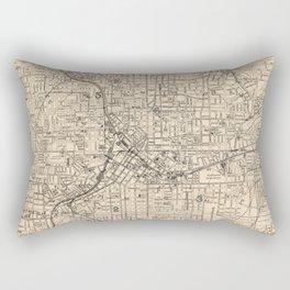 1906 Map of Atlanta, GA Rectangular Pillow