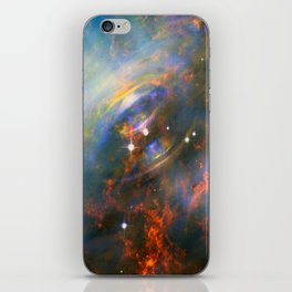 Beating Heart of the Crab Nebula iPhone Skin