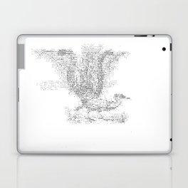 ASCII Lyrebird Laptop & iPad Skin