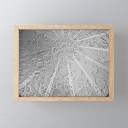 Drops on a Table Framed Mini Art Print