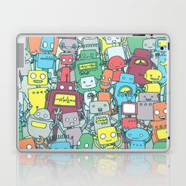 Robot Party Laptop & iPad Skin
