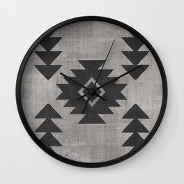 Aztec Tribal Wall Clock