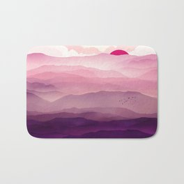 Ultra Violet Day Bath Mat