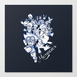 Digimon Memories Canvas Print