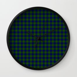 Colquhoun Tartan Wall Clock