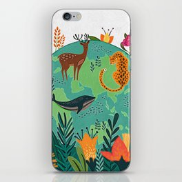 Once Destroyed Nature's Beauty Cannot Be Repurchased At Any Price iPhone Skin