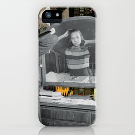 Walk On By iPhone Case