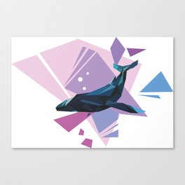 Geometry of the Void Canvas Print