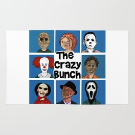 The Crazy Bunch Rug