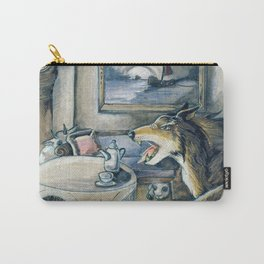 GrimmSeries5 - Wolf in the house Carry-All Pouch