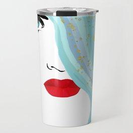 Francesca Has Mermaid Hair Travel Mug