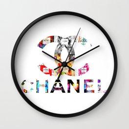 Perfumes and Fashion Wall Clock