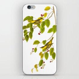 Carbonated Warbler Bird iPhone Skin