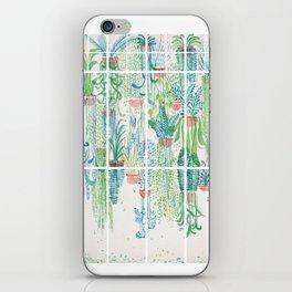 Winter in Glasshouses II iPhone Skin