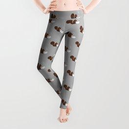 Squirrel Coffee Lover Leggings