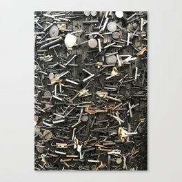 Staples and Nails it! Canvas Print