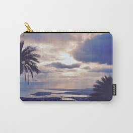 Palm Trees & Evening Breeze Carry-All Pouch