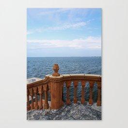 The Ringling Overlooking Sarasota Bay II Canvas Print