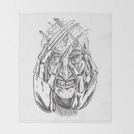 Nightmare of Freddy Throw Blanket