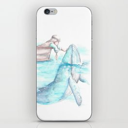Jonah and The Whale iPhone Skin