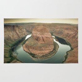 canyon country flow horseshoe bend arizona Rug